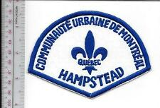 Montreal Police Department Communaute Urbaine Hampstead Station non Active)