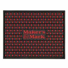 Makers Mark Extra Large Bar Serving Station Drip Mat, New, Free Shipping