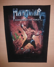 Manowar , Original Back Patch , Warriors of the World , 2002 Nuclear Blast , EX