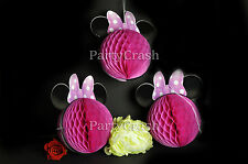 New Minnie Mouse Birthday Decoration Baby Shower 1st Birthday Party Supplies