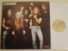 SCORPIONS - Virgin Killer LP RCA Records 1977 - Italy Pressing