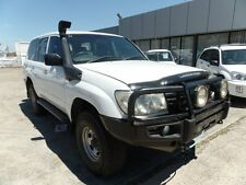 2005 Toyota Landcruiser 100 DX White Wagon