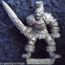 1988 CHAOS WARRIOR 0202 06 GAMES WORKSHOP CITADEL WARHAMMER Armée mal fighter GW
