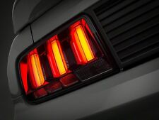 Ford Mustang Smoked Vector Tail Lights - White Diffusers (05-09 All)
