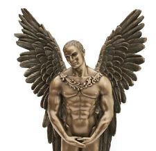 ICARUS Stunning Male Nude Angel Sculpture in Bronze Finish NEW IN