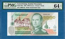 Luxembourg, 5000 Francs, A Edition #143, 1993, Choice UNC-PMG64Net, P60a