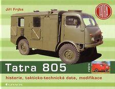 Book - Tatra 805 Truck - Military Army T603 Motor - Jiri Fryba - Nutzfahrzeuge