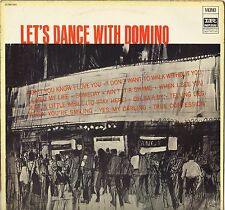 "FATS DOMINO ""LET'S DANCE WITH DOMINO"" LP 1981"