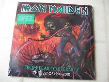 IRON MAIDEN 2011 from fear... NEW/SEALED (3) FOLD-OUT PICTURE DISC SET w/STICKER
