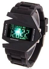 Digital Lava Quartz Wrist Watch LED Men's Band Sport Watch