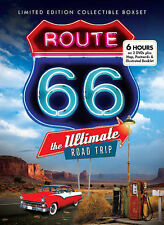 Route 66: The Ultimate Road Trip (Limited Ed DVD) Map/Postcards BRAND NEW