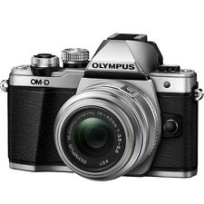 Olympus E-M10 Mark II (Silver) With 14-42mm EZ Lens Kit + 8GB + Bag