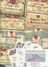 4000 WINE LABELS - VERY BEAUTIFUL LOT NEW IN PERFECT CONDITION - FREE SHIPPING