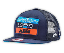 NEW TROY LEE DESIGNS TLD KTM GOPRO TEAM SNAPBACK NEW ERA HAT NAVY ONE SIZE