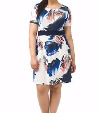 Triste By Gwynnie Bee Chic Abstract Chelsea Dress Size 4X