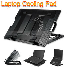 "AU Notebook Cooler Laptop Cooling Pad Fan Table Stand Fits 9""-17"" USB Hub"