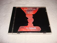 Michael Jackson / Janet Jackson Scream 5 Track Australia CD Single Mega Rare