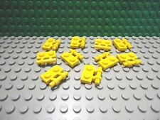 Lego 10 Yellow 1x2 plate with side handle NEW