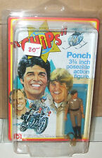 1977 MEGO CHIPS Erik Estrada Ponch figure 3.75 inch Unpunched MOC w/Protecto ca