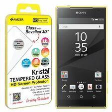 AMZER Kristal Tempered Glass HD Screen LCD Protector For Sony Xperia Z5 Compact