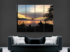 KOH SAMUI THAILAND BEAUTIFUL SUNSET ART WALL LARGE IMAGE GIANT POSTER !
