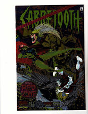 Sabertooth Special #1 (1995, Marvel) NM- In the Red Zone! Chromium Foil Cover