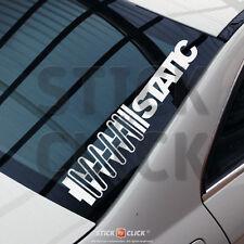 Static XL Sticker Frontscheiben Auto Aufkleber stance illest dapper FUN dub jdm
