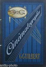 Catalogue N°6, 1914-1915, Cinématographe par G.Guilbert.
