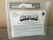 1984 Mattel Marvel Secret Wars Sears 2-Pack Mailer Wolverine Vs. Kang AFA 80