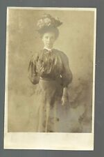 RP c1910 WOMAN AMPUTEE Handicap Handicapped MISSING RIGHT ARM Young Girl