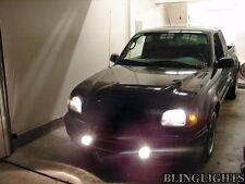 White Angel Eye Fog Lamps Halo Driving Light Kit for 2001-2004 Toyota Tacoma
