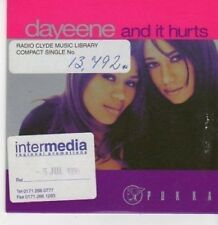 (BG896) Dayeene, And It Hurts - 1999 DJ CD