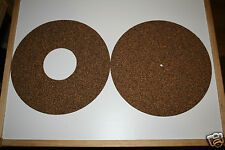 OscarsAudio Cork and Rubber Turntable  Mat *twin mat **BEST VALUE ON EBAY**