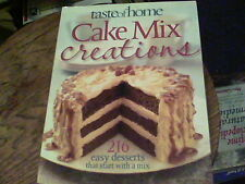 taste of home Cake Mix creations 216 easy desserts b25