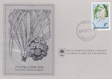 First Day Cover: REPUBLIC OF MALDIVES Royal Horticultural Society Flower Stamp B
