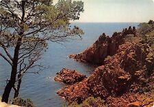 BF1304 la corniche d or les rochers rouges de l esterel France