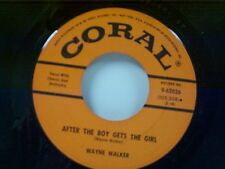 "WAYNE WALKER ""AFTER THE BOY GETS THE GIRL / JUST BEFORE DAWN"" 45"
