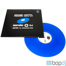 Rane Serato Scratch Replacement Control Vinyl Record - Blue - *NEW VERS 2.5*