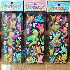 New 3D Children Stereoscopic Stickers-Lot Of 3 pcs Kids Birthday gift