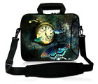 "17"" 17.3"" 17.4"" Laptop Notebook Shoulder Messenger Bag Case Pouch W.Side Pocket"