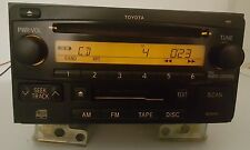 03 04 05 Toyota 4-Runner Highlander Radio Cd Cassette 86120-35281 16852 - Tested