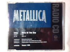 METALLICA Hero of the day cd singolo PR0M0