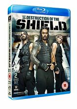 WWE The Destruction Of The Shield 2er [Blu-ray] NEU Roman Reigns, Dean Ambrose