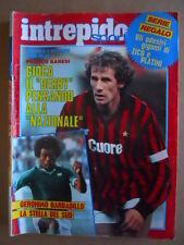 Intrepido Sport n°45 1983 con Adesivi giganti di ZICO e PLATINI   [G413]