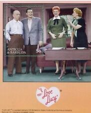 I Love Lucy INTL Stamp Sheet ANTIGUA & Barbados- Laughing Matter w/ COA $15.00!!