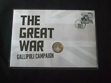 2015 THE GREAT WAR GALLIPOLI CAMPAIGN EXTREMELY LIMITED EDITION PNC
