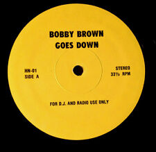"""FRANK ZAPPA BOBBY BROWN GOES DOWN / BROKEN HOME 12"""" YELLOW LABEL PROMO UNKNOWN"""