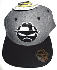 MENS LOWRIDER GRAY/BLACK SNAPBACK CAP ADJUSTABLE HAT ONE SIZE