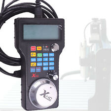 LCD Screen USB Wired Hand Wheel MPG Pendant for Mach3 CNC 3/4 Axis Router System