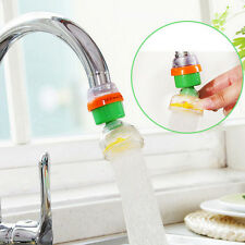 360°Swivel Carbon Double Filtration Kitchen Faucet Tap Water Purifier Filter WB